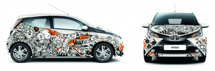 Toyota Aygo x adhocrates